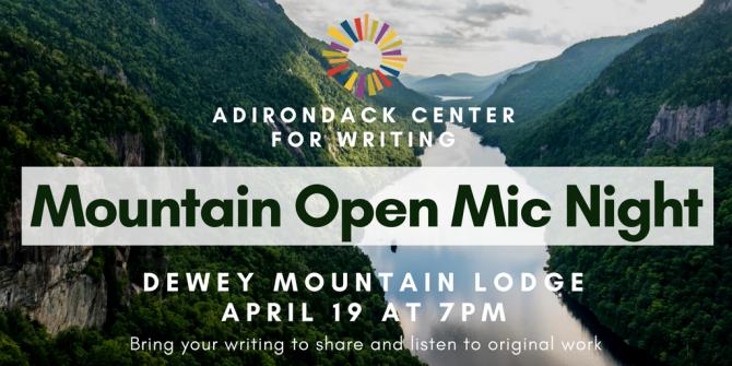 Mountain Open Mic Night social
